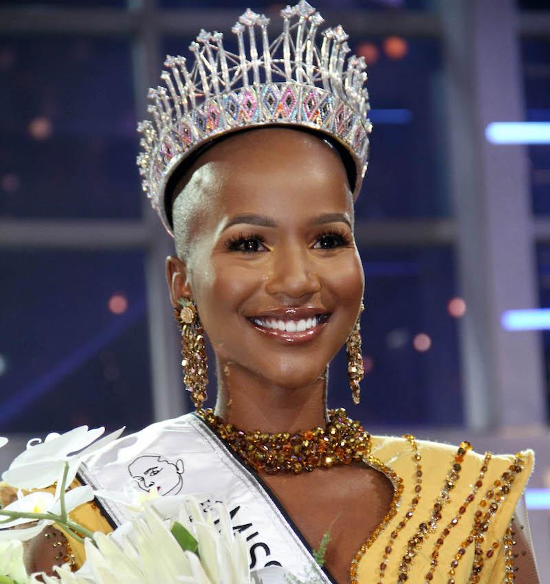 Miss South Africa 2020 Shudufhadzo Musida. Pic by Yolanda van der Stoep copy